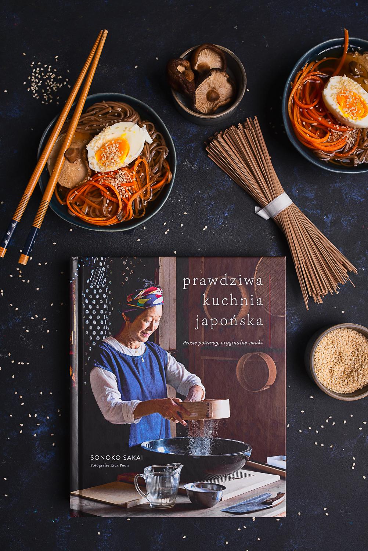 """""""Prawdziwa kuchnia japońska"""" Sonoko Sakai - recenzja książki + przepis na szybką zupę miso"""