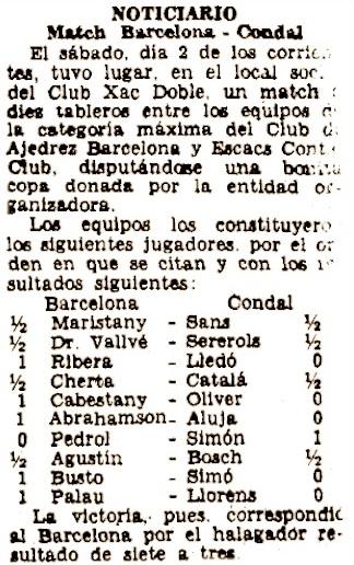 Recorte de El Noticiero Universal, 6/5/1936