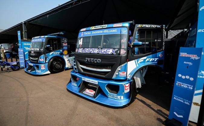 Copa Truck 2020: FPT Industrial acelera três pilotos na etapa Curitiba
