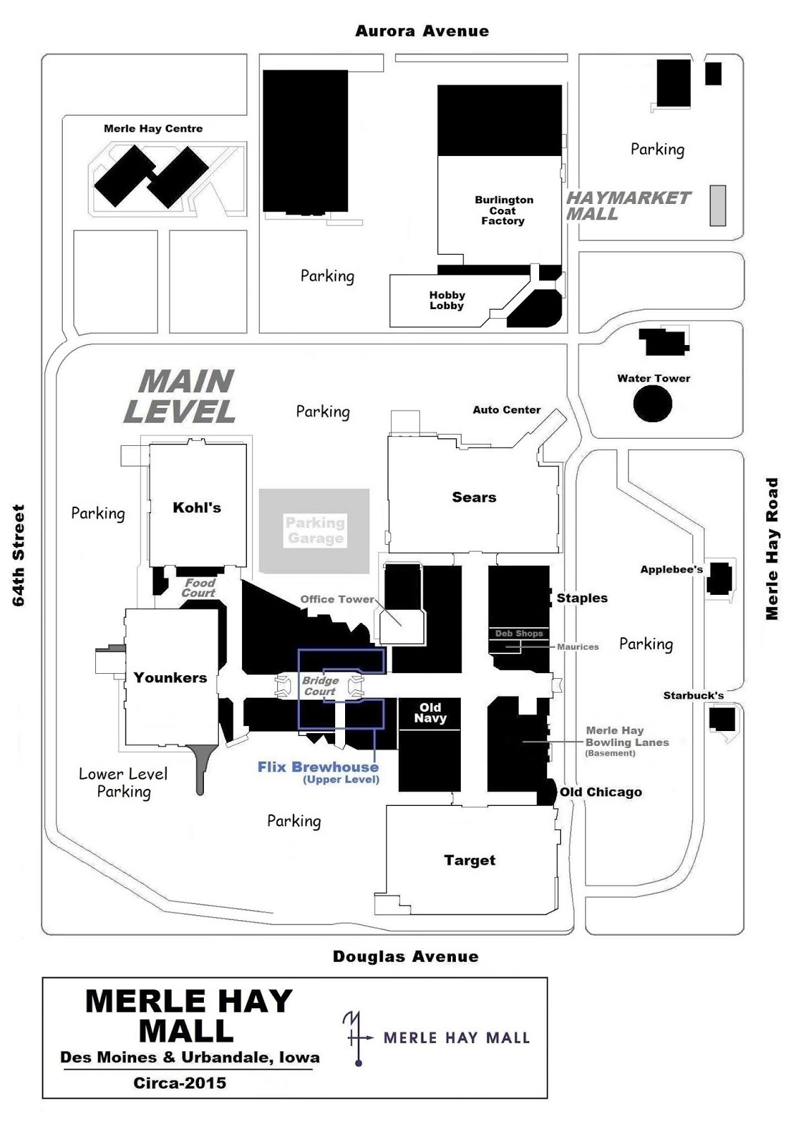 Merle Hay Mall Stores : merle, stores
