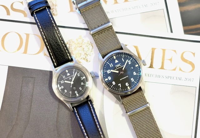 af9abdcfc27 IWC s Mk XVIII Homage to the Historic Mk XI Military Pilot s Watch ...