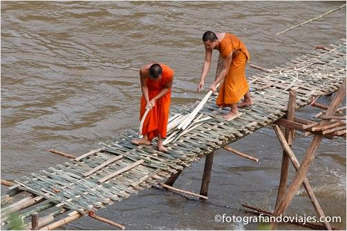 puente en Luang Prabang