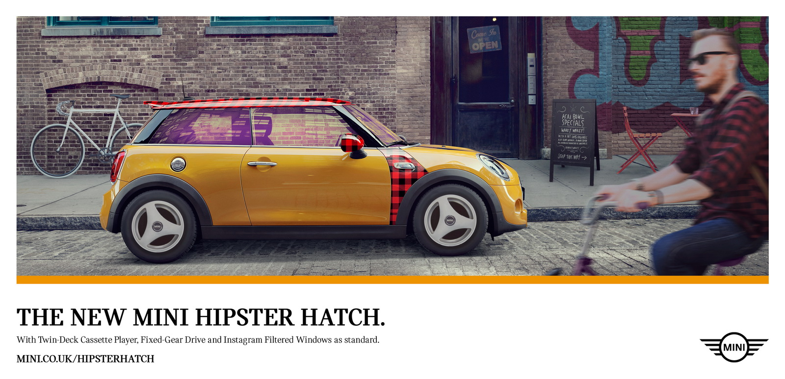 new car release april 2016Minis April Fools Day Hipster Hatch