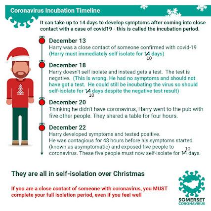 Somerset Council Coronavirus self isolating and Christmas edited to 10 day self-isolation