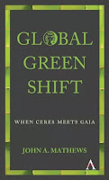 Omslag Global Green Shift av John A. Mathews