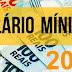 Governo eleva salário mínimo para R$ 1.045. Reajuste decorre da inflação mais alta em 2019.