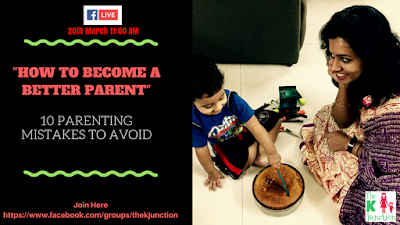 how to become better parent parenting mistakes to avoid the k junction fb live