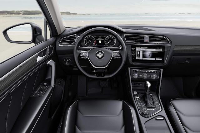 VW Tiguan AllSpace 2017 - interior - painel