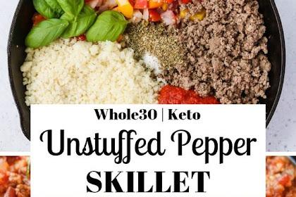 Whole30 #Unstuffed #Pepper #Skillet