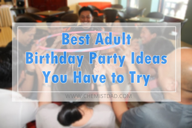 adult birthday party, birthday, family,