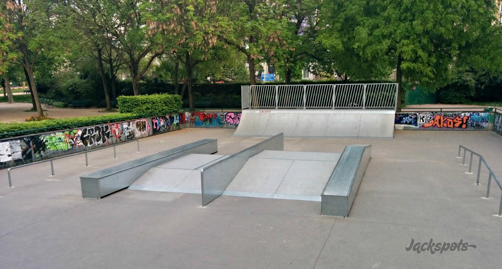 le skatepark parisien de porte d 39 orl ans jackspots. Black Bedroom Furniture Sets. Home Design Ideas
