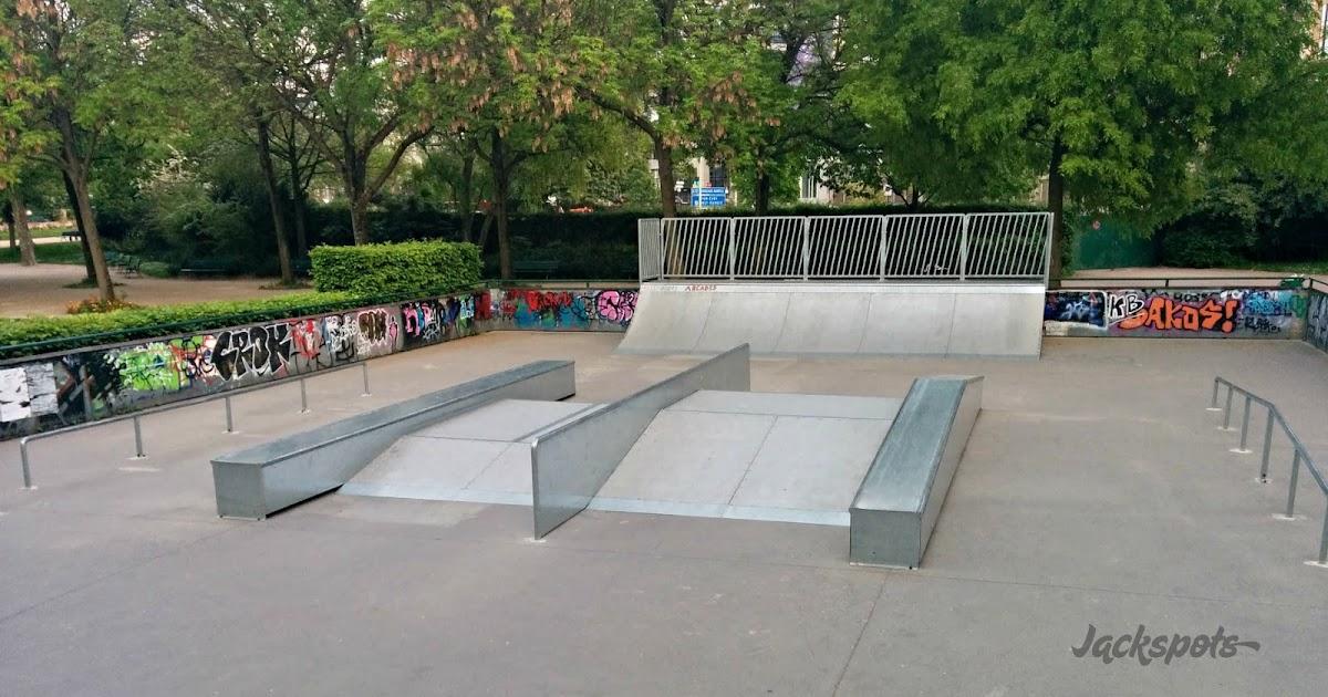 Le skatepark parisien de porte d 39 orl ans jackspots - Arrondissement porte d orleans ...