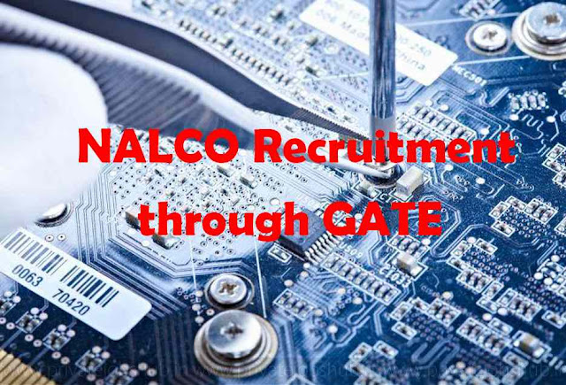 NALCO Recruitment through GATE