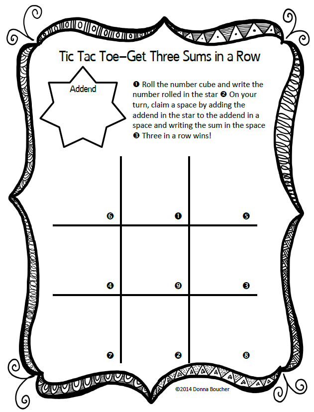 tic tac toe menu template - search results for editable tic tac toe template