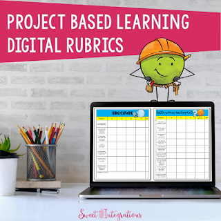 cover for digital rubrics for project based learning