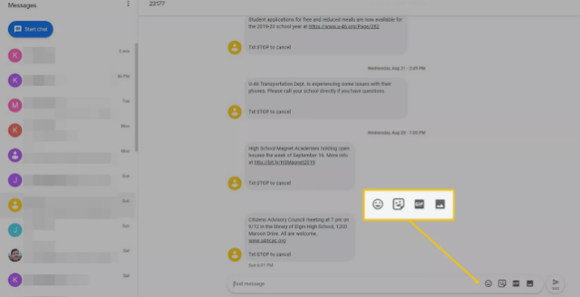 Cara Mudah Mengatur dan Menggunakan Pesan Android di PC 7