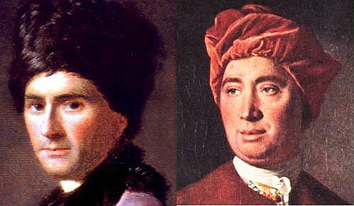 """""""Hume y Rousseau enemigos ilustrados"""""""