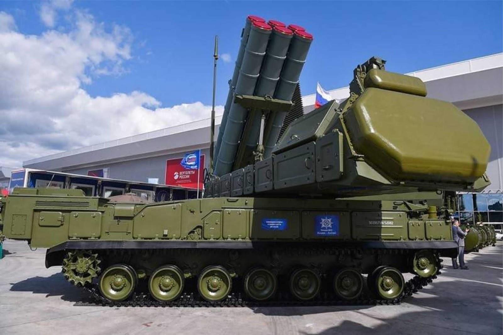 Sistem pertahanan udara Buk-M3 Viking mulai dipamerkan di luar negeri