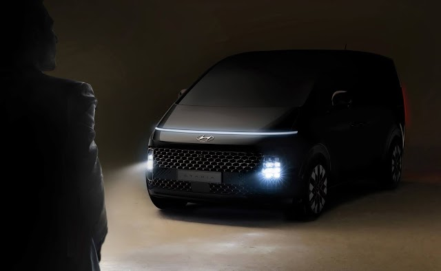 Hyundai unveils teaser images of new MPV Staria