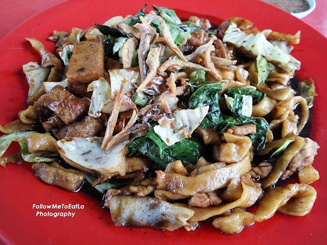 Special Fried Pan Mee Lucy Stall Pan Mee Happy Garden Kuchai Lama