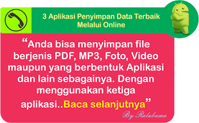 Aplikasi Penyimpanan Data Melalui Online