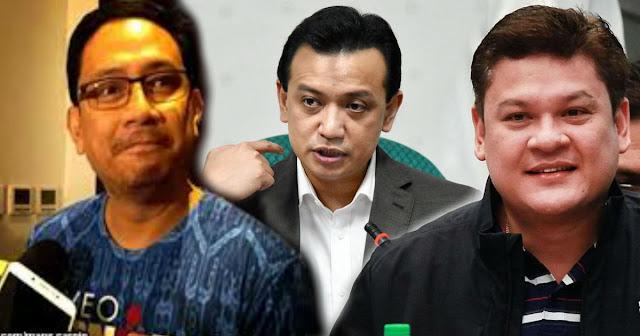 Resback | Paolo Duterte at Mans Carpio sinampahan ng kasong Civil case for Damages si Sen. Trillanes