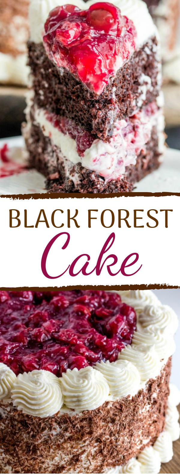 Black Forest Cake #chocolate #dessert