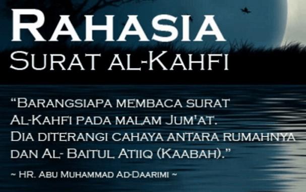 Bacaan Surah Al Kahfi Ayat 1 10 Rumi Terjemahan Serta