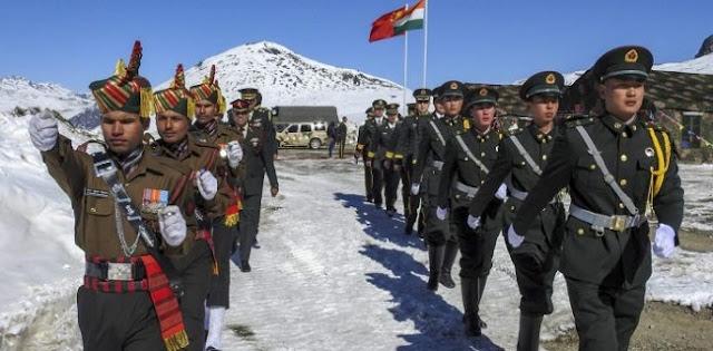 Perbatasan India-China Kembali Tegang, Kedua Pasukan Lagi-lagi Bentrok Di Ladakh