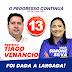 Eleições em Ponto Novo: Nova pesquisa registrada no TSE confirma mais uma vez a liderança de Tiago Venâncio e Simone Silva