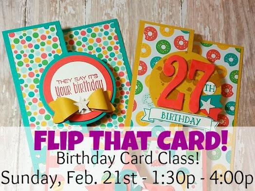 Flip That Card! New Class!