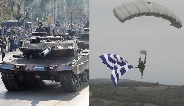 Παρέλαση 28ης Οκτωβρίου: Η έκπληξη που ετοιμάζει αλεξιπτωτιστής στην ΠτΔ-Τι σχεδιάζεται