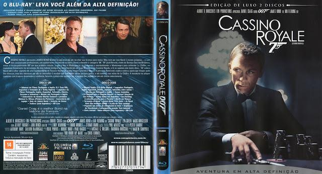 Capa Blu-ray Cassino Royale