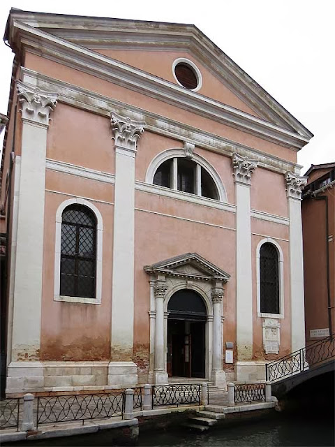 Church of San Luca Evangelista, St Luke the Evangelist, Fondamenta della Chiesa, San Marco, Venice