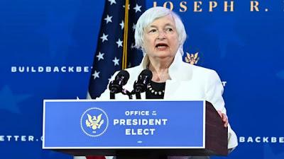 Yellen está all-in nos planos de gastos malucos de Biden 12