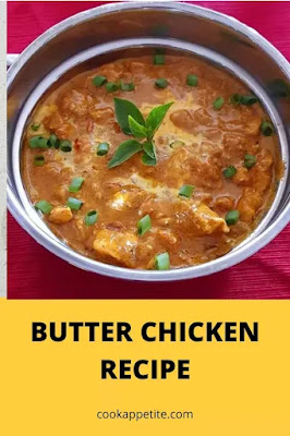 a super easy, full flavoured butter chicken recipe that rivals any restaurant or take out