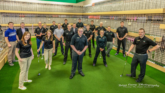 Grand opening of Golf Town with Brad Gushue