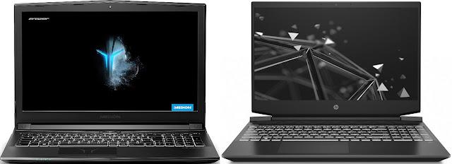 Comparativa mejores portátiles gaming baratos Medion vs HP