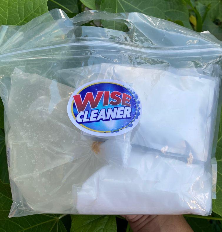 Wise Cleaner DIY Kit dishwashing liquid