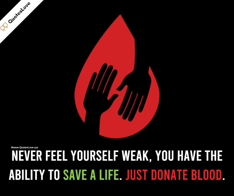 World Blood Donor Day Quotes, Slogan, Poster, Images, Pictures