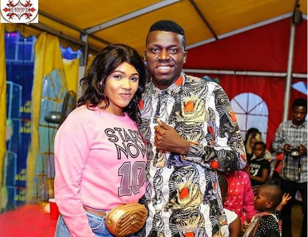 Comedian Akpororo, Wife Celebrate 3rd Wedding Anniversary