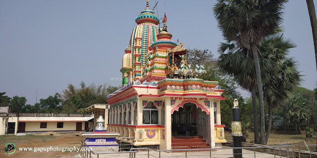 Full view of Radhakrushna Jew Temple Balasore