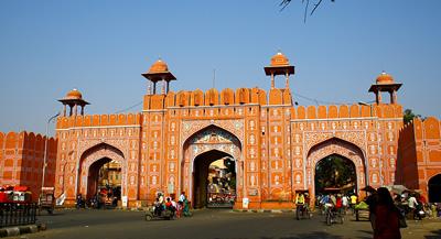 Ajmeri Gate in Delhi