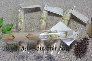 bambu gulung gliter