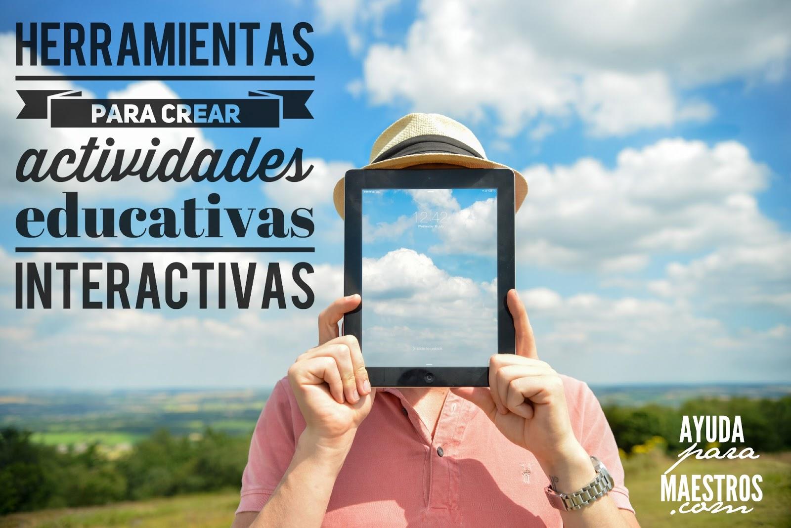 18 herramientas para crear actividades educativas interactivas