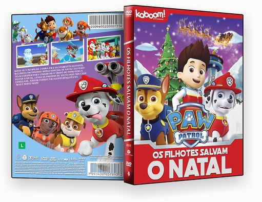 CAPA DVD – Os Filhotes Salvam O Natal – ISO