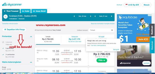 tiket pesawat murah surabaya - baubau