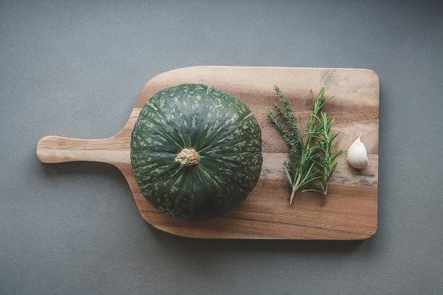 Zucca al forno con buccia step preparazione