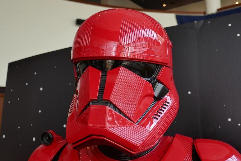 Red Sith Trooper helmet Star Wars Rise of Skywalker