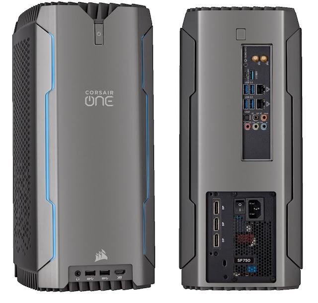 أفضل كمبيوتر مكتبى لتحرير الفيديو: Corsair One Pro i180